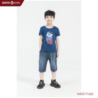 Áo Thun Kid In Họa Tiết Let The Music Play N4321T1662 GENVIET KID thumbnail