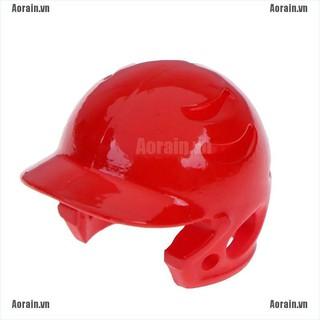 MT 1:12 Dollhouse mini baseball cap helmet model toys for doll house decoration NY
