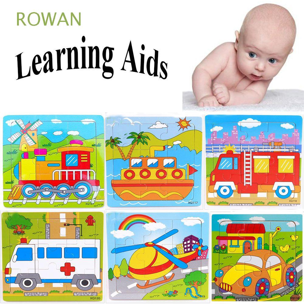 Hot Funny Learning Aids Intellect Development Ability Improvement Wooden Jigsaw