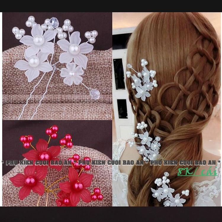 Trâm cài tóc ( Hoa pha lê)
