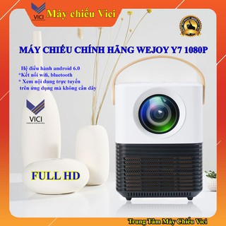 Yêu ThíchMÁY CHIẾU LED WEJOY Y7 FULL HD 1080P, HỆ ĐIỀU HÀNH ANDROID 6.0 CHÍNH HÃNG, MÁY CHIẾU PHIM MINI