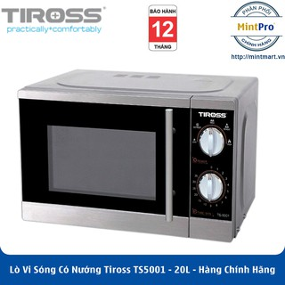 Lò Vi Sóng Có Nướng Tiross TS5001 - 20L - Hàng Chính Hãng