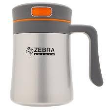 Bình giữ nhiệt Zebra Amethyst có quai 0.4L - Zelect - 112997