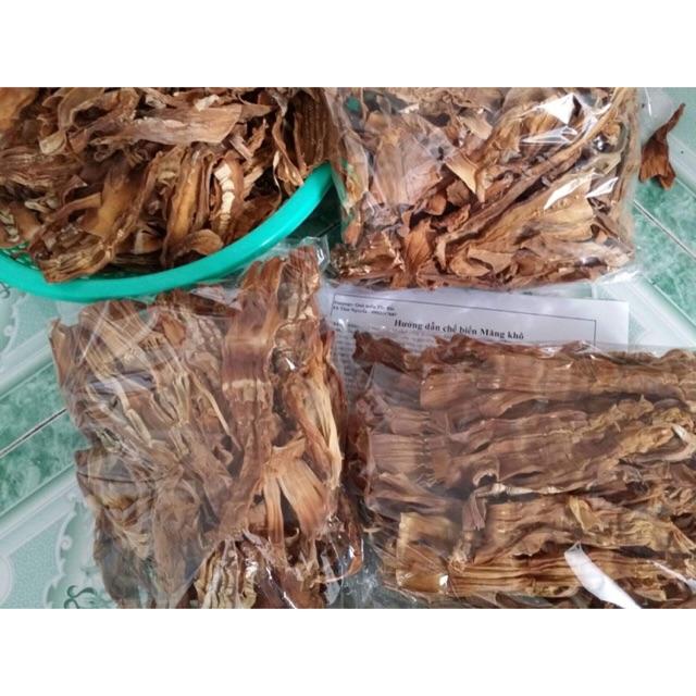 Măng khô homemade- đặc sản Tây Bắc