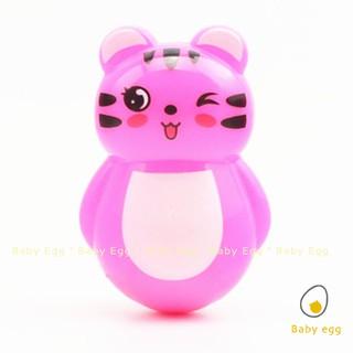 Lật đật mini hình gấu đáng yêu đồ chơi trẻ em cho bé 1 2 3 4 5 6 tháng tuổi