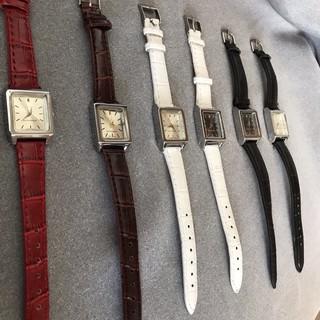 ( Giá Sỉ ) Đồng hồ thời trang nữ Winton mặt chữ nhật TT499