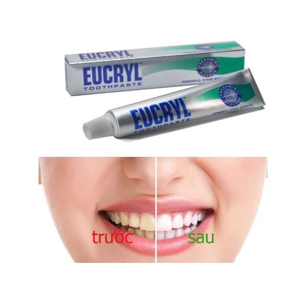 Combo Tẩy Trắng Răng Hoàn Hảo Eucryl