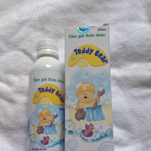 Tắm gội thảo dược trị rôm sảy Teddy