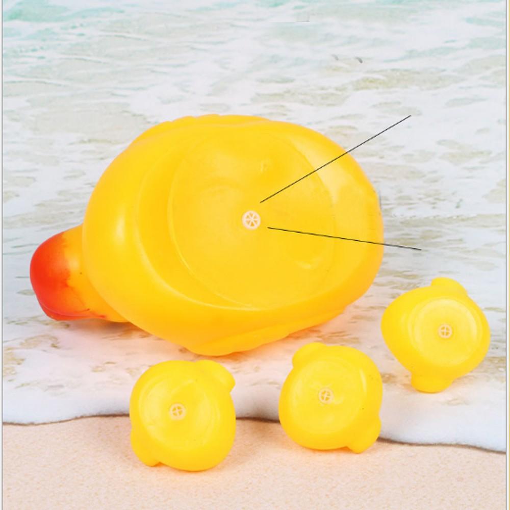 [TẾT SALE HẾT] Vịt thả bồn tắm phát tiếng 1 mẹ 3 con cho bé