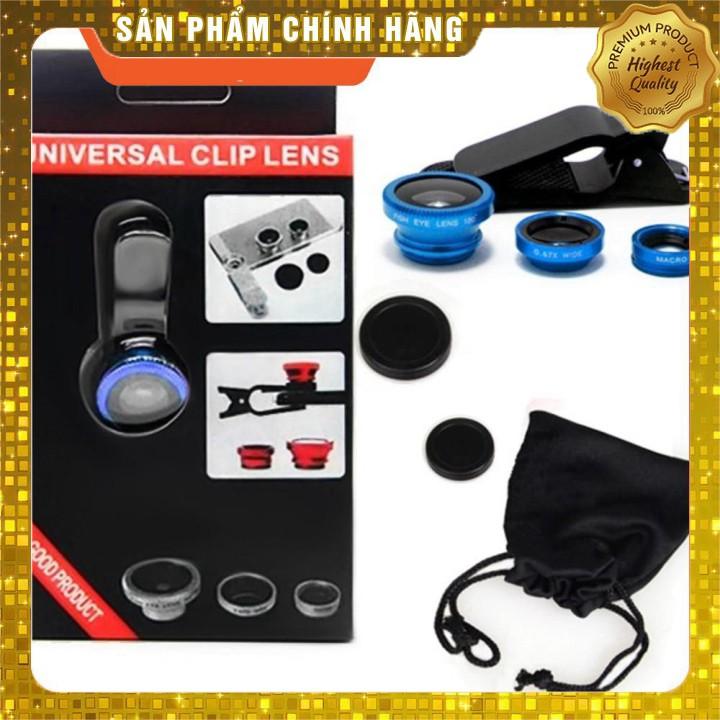 ban Hot- Bộ ống lens camera điện thoại 3in1 mẫu mới cho hình ảnh rõ nét hơn K001 Sale siêu  rẻ