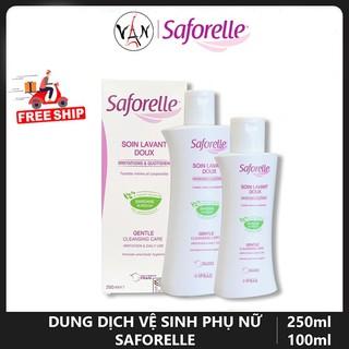 [Tem chính hãng] Dung dịch vệ sinh phụ nữ Saforelle cho da nhạy cảm dễ kích ứng thumbnail