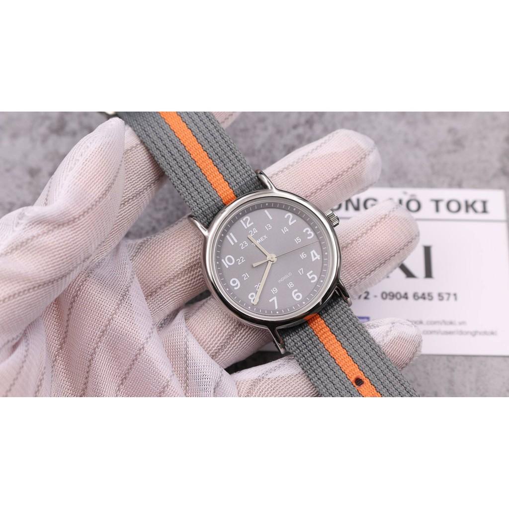 Đồng hồ TIMEX Unisex Weekender T2N649 dây vải