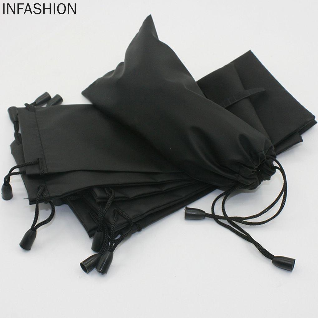 Túi dây rút màu đen đựng mắt kính đa năng