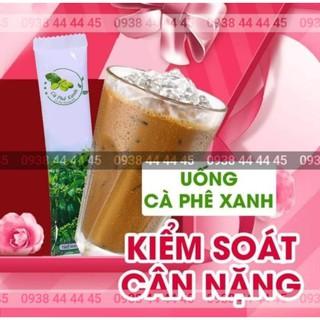 Cà Phê Xanh Kháng Mỡ Giảm Cân Thiên Nhiên Việt