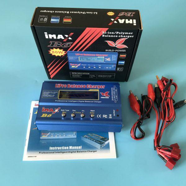 Sạc pin imax B6 80W