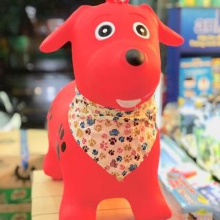 Thú nhún hình chó có khăn choàng cổ