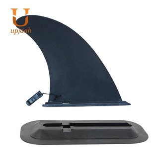 9 Inch Surfboard Fin with Base Water Wave Fin for Beginners and Pros