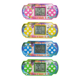 High Brightric Mini Tetris Game Console LCD Handheld Game Players Children Educational Toy