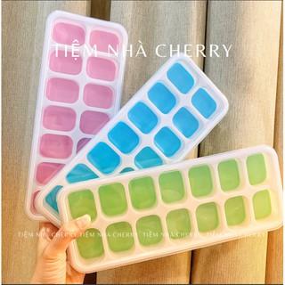 Khay đá, Khay trữ đông đế silicon - BPA free - an toàn cho bé , tiện lợi cho mẹ thumbnail