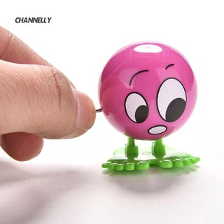 ■Cy 1Pc Wind up Face Expressions Ball Cartoon Somersault Running Clockwork Toy