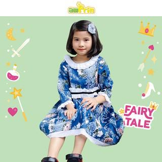 Đầm hoa đính ren bé gái Amprin D676 thumbnail
