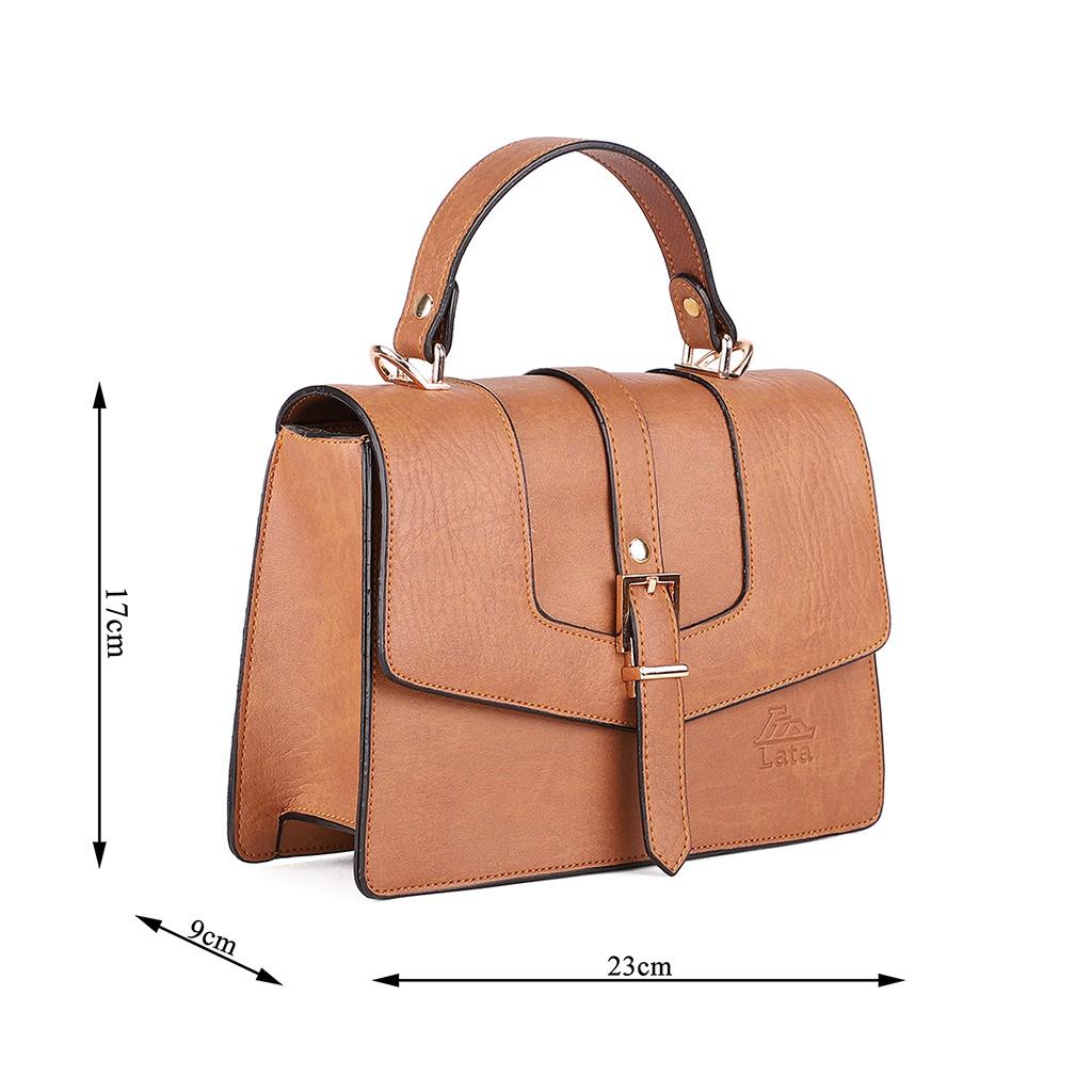 Túi đeo chéo thời trang nữ LATA HN65 nhiều màu