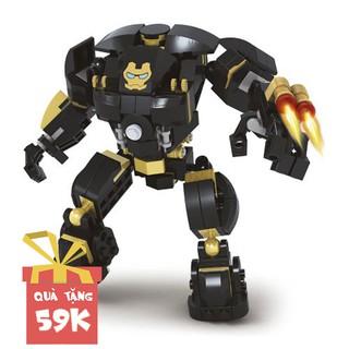 Hộp lego xếp hình Super Hero – Heroic Age Bộ giáp sắt Hulk Buster 25522