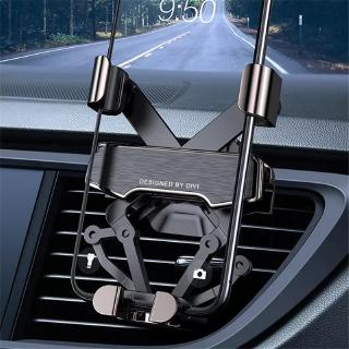 New Car Phone Holder Gravity Linkage Automatic Lock Air Vent Spring Holder