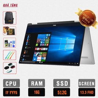[Bảo hành 12 tháng] Laptop Dell Xps 9365 (2-IN-1) Core i7-7Y75, RAM 16GB, SSD 512GB,Màn 13.3 inch FHD Touch