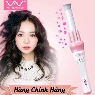 Máy uốn tóc xoăn xoay tự động 360 VIVID & VOGUE, máy làm tóc uốn xoăn tự động - Hàng chính hãng bảo hành 1 năm tại GH thumbnail