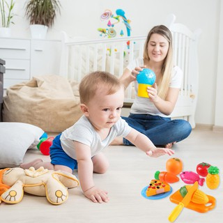 ❤toy❤ 24pcs Cutting Fruit Vegetable Toy Set Kitchen Pretend Play Kids Puzzle Toys