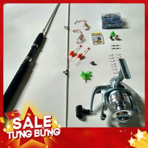( Big sale ) Bộ cần Shimano 2 khúc đặc, máy Yolo 6000 - 14922467 , 2621413864 , 322_2621413864 , 325700 , -Big-sale-Bo-can-Shimano-2-khuc-dac-may-Yolo-6000-322_2621413864 , shopee.vn , ( Big sale ) Bộ cần Shimano 2 khúc đặc, máy Yolo 6000