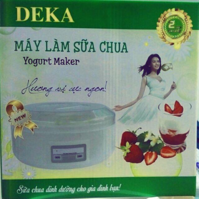 Máy làm sữa chua Deka cốc nhựa