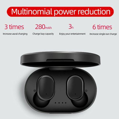 Tai nghe Bluetooth XiaoMi Mini A6s MiPods True Wireless - Bass Cực Mạnh,Công nghệ 5.0 - Bảo hành 6 tháng