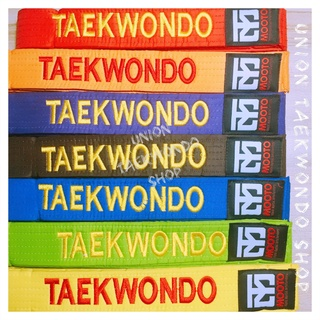 Đai Taekwondo Phong Trào Mooto Thêu Sẵng - Hàng Có Sẵng UnionTaekwondoSHOP thumbnail