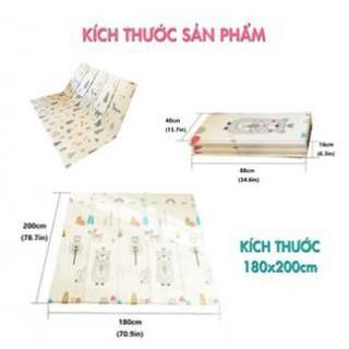 Thảm xốp cho bé XPE 2 mặt Hàn Quốc phủ 2 silicon chống thấm trơn mốc,Thảm xốp lót sàn cho bé tập bò thumbnail