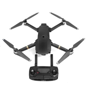 Carbon Fiber Stickers RC Quadcopter Skin Decals Wrap for DJI Mavic Pro Drone