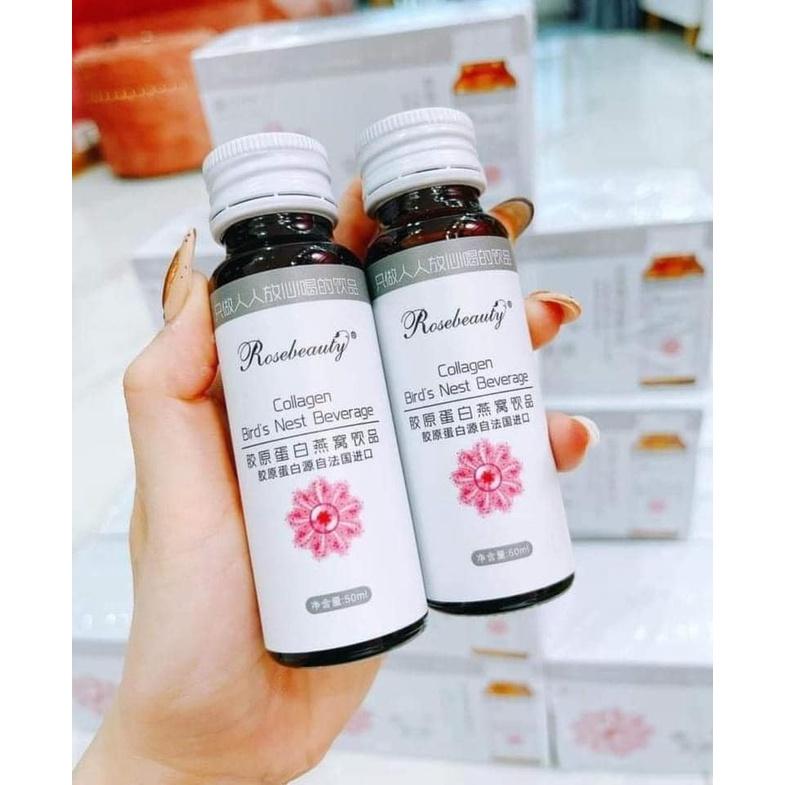 [Mẫu mới ] Collagen trắng da Rose beauty
