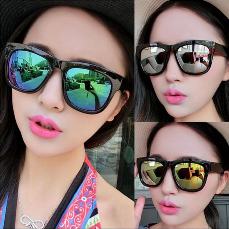 Kính mát vuông chống tia UV400 phong cách Hàn Quốc