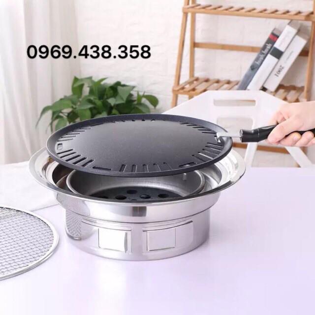 Bếp nướng than hoa không khói 5 món