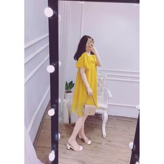 [Mã SKAMA06 giảm 8% tối đa 50K đơn 250K] Váy bầu công sở suông đẹp 🍅 FREESHIP 🍅 đầm nữ đẹp