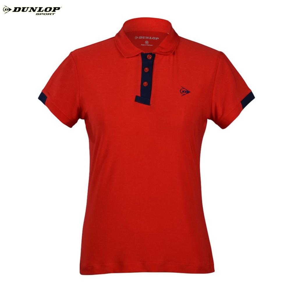Áo thể thao Nữ Dunlop - DABAS9090-2C-RD (Đỏ) Hàng chính hãng Thương hiệu từ Anh Quốc