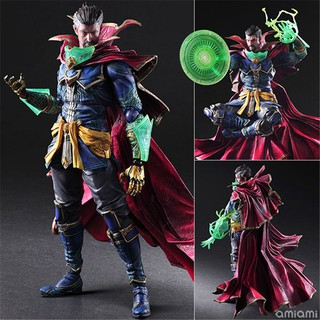 Avengers Infinity War PlayArts SHF Doctor Strange PVC Action figure Collectible Model Toys Doll Gift with Box 26cm