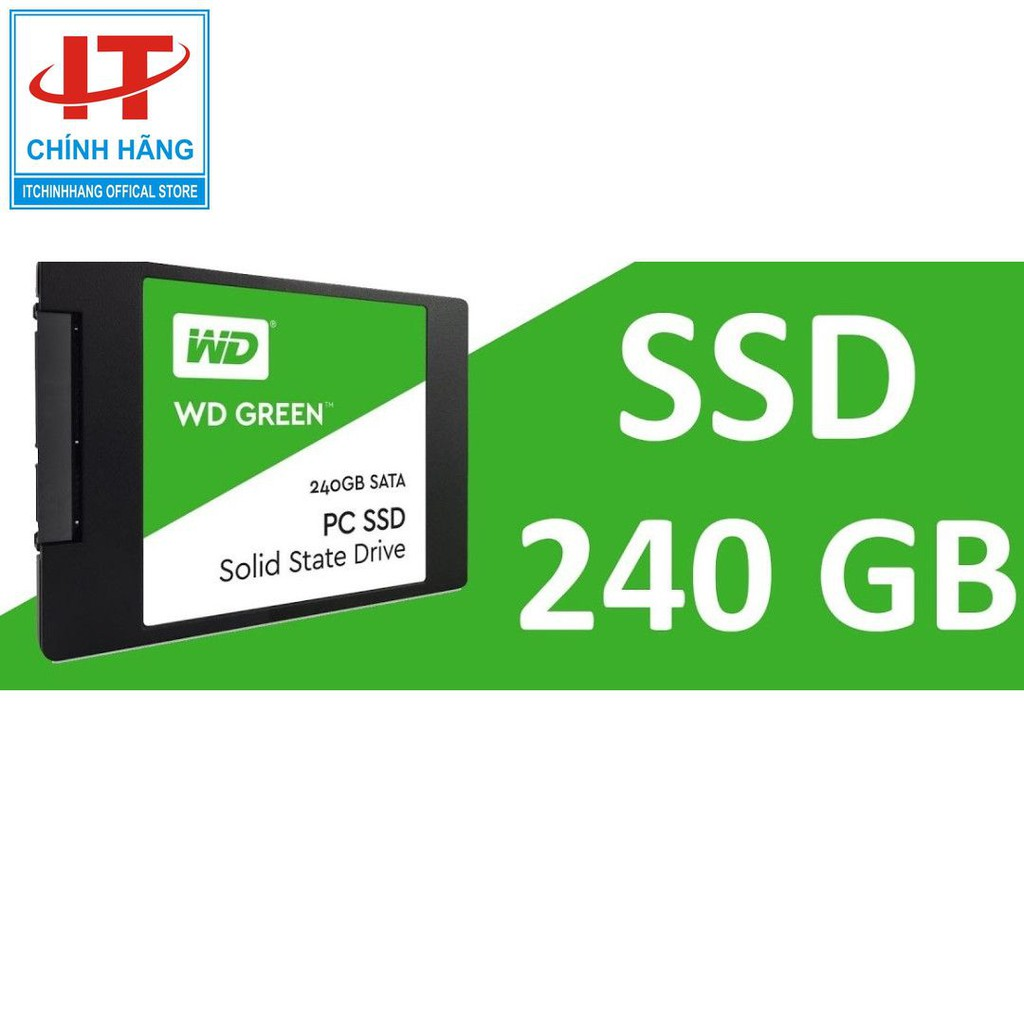 Ổ Cứng SSD WD 240GB Green FPT