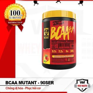Chống Dị hóa Cơ Bắp Mutant Bcaa 9.7 90 lần dùng – Chính Hãng 100%