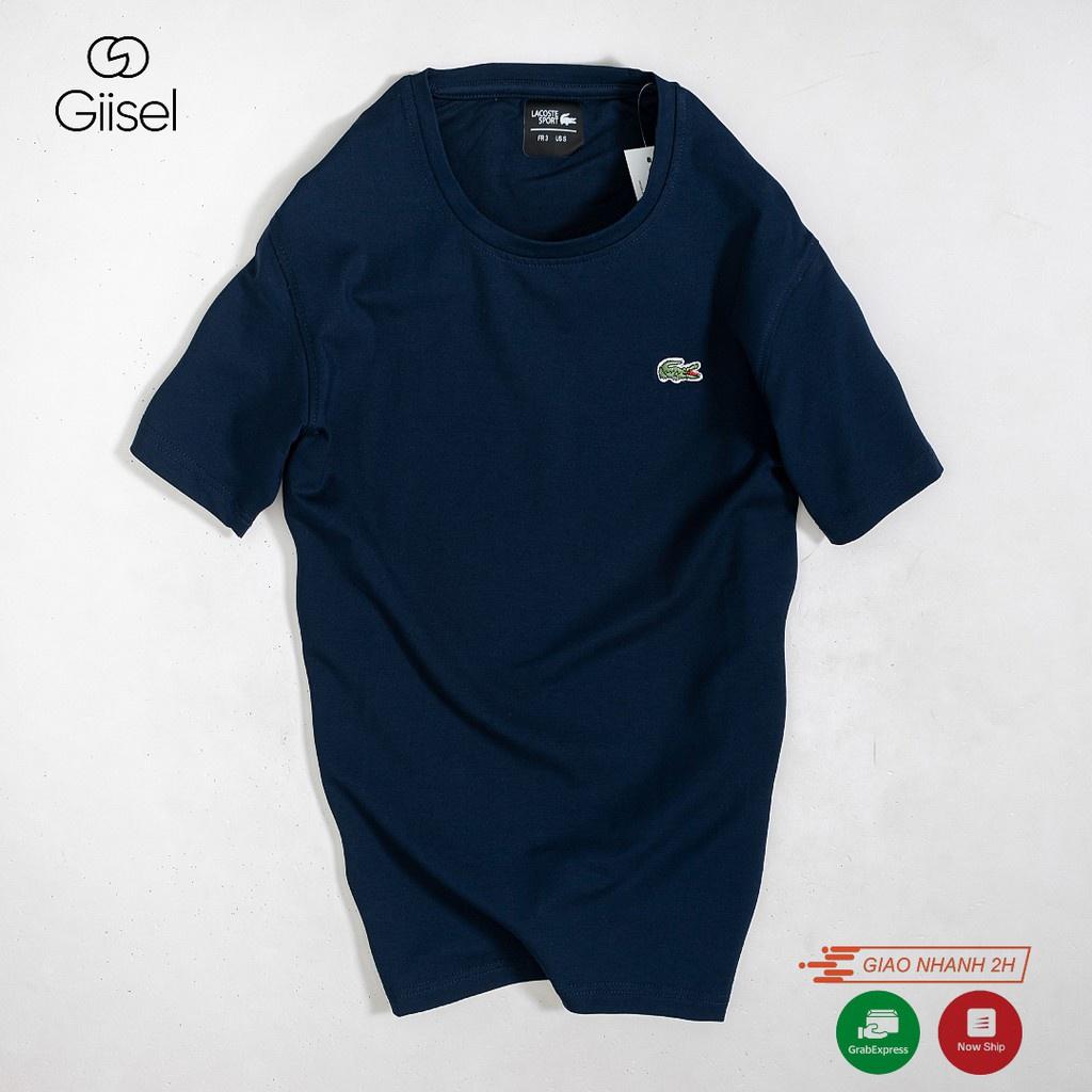 Áo thun phông nam nữ trơn cổ tròn basic cộc tay cotton cao cấp 8 màu đẹp rẻ : đen trắng ghi tím than đỏ vàng xanh