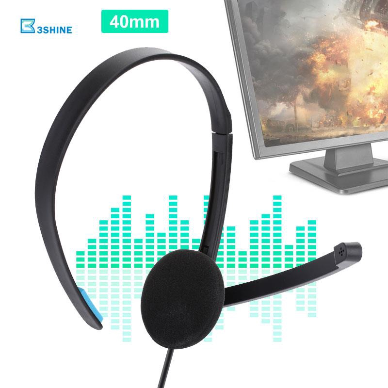 3se Gaming Headset One Side Headset 1.2m 3.5mm Live Chat Ps4