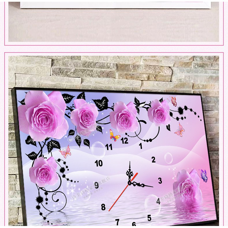 (HÀNG ORDER)Tranh thêu chữ thập chỉ lụa đồng hồ hoa hồng - 3519406 , 1058417339 , 322_1058417339 , 299000 , HANG-ORDERTranh-theu-chu-thap-chi-lua-dong-ho-hoa-hong-322_1058417339 , shopee.vn , (HÀNG ORDER)Tranh thêu chữ thập chỉ lụa đồng hồ hoa hồng