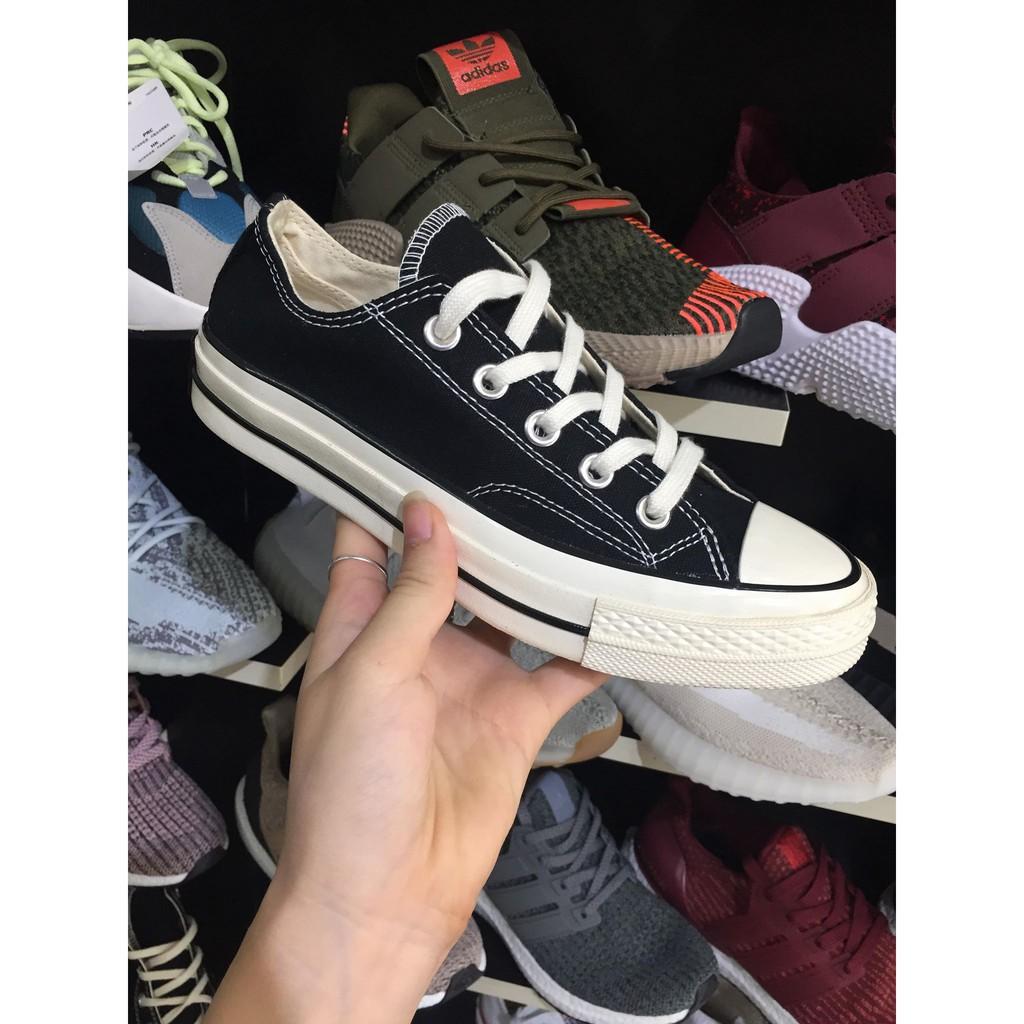 [F⚡️ASH SALE] [FLASH SALE]Giày Converse 1970s đen thấp cổ HOT HIT