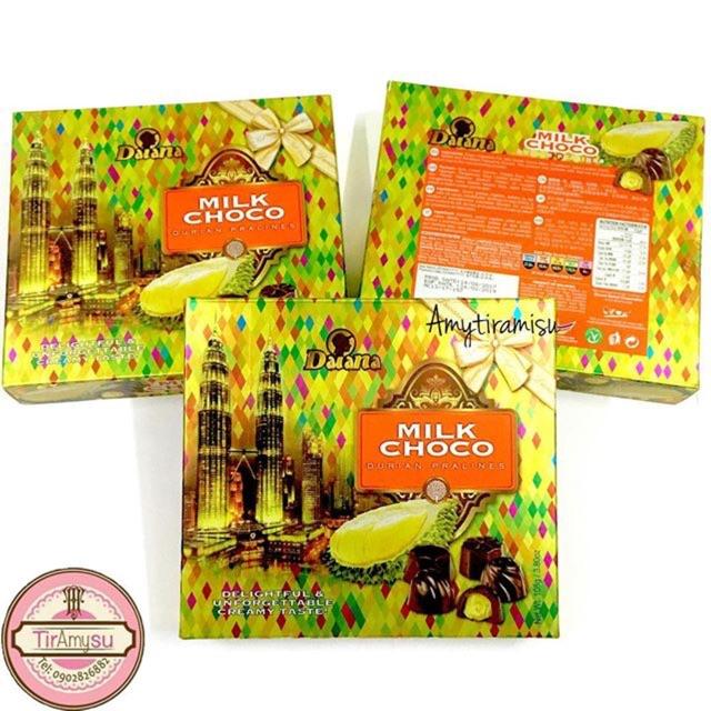 Sô cô la Sữa Sầu Riêng Daiana - hàng xách tay Malaysia